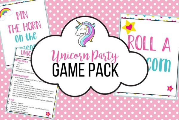 Unicorn Party Game Pack
