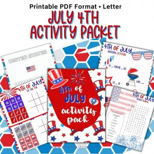 4th of July Activity Pack